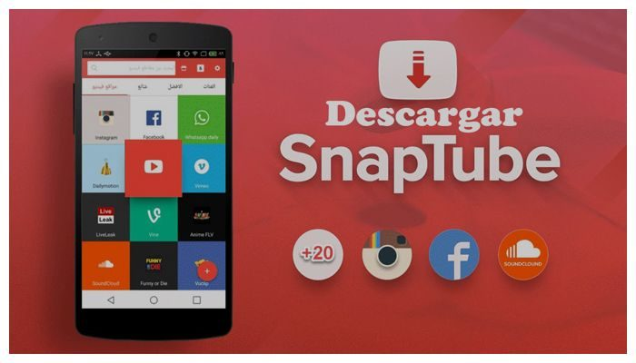 descarga snap tube