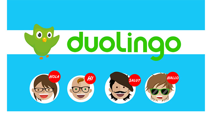 apprendre à parler anglais avec duolingo