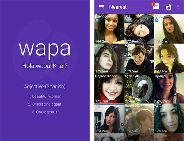 conocer gente wapa