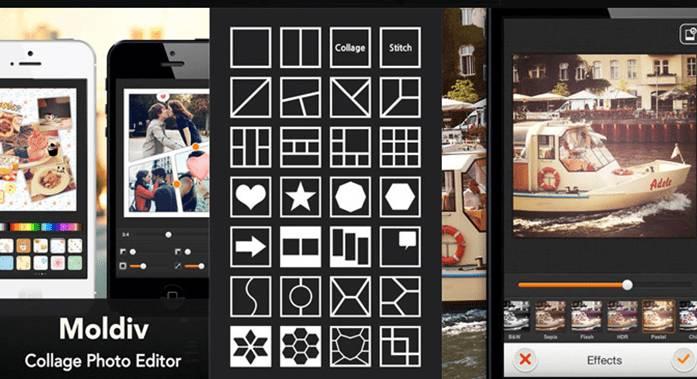 hacer collages con mi móvil