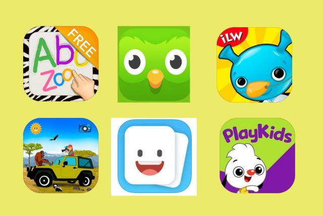 apps para niños en la tabla