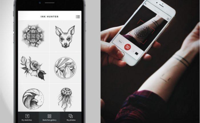 para tatuajes con tu celular inteligente