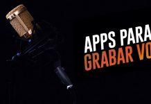 Todo sobre aplicaciones para grabar voz