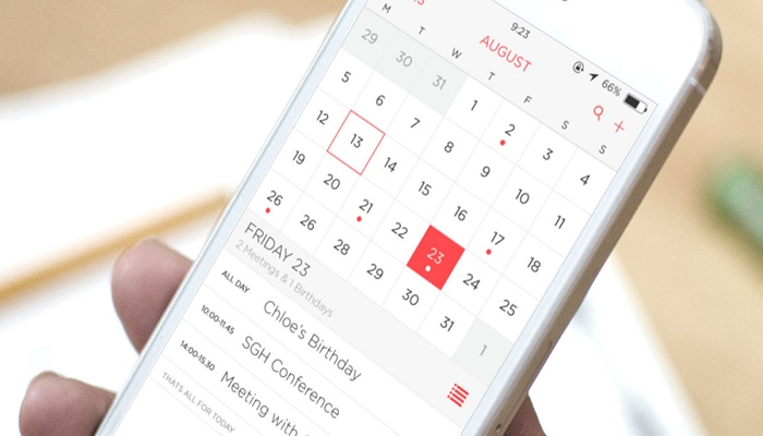 aplicaciones de calendario