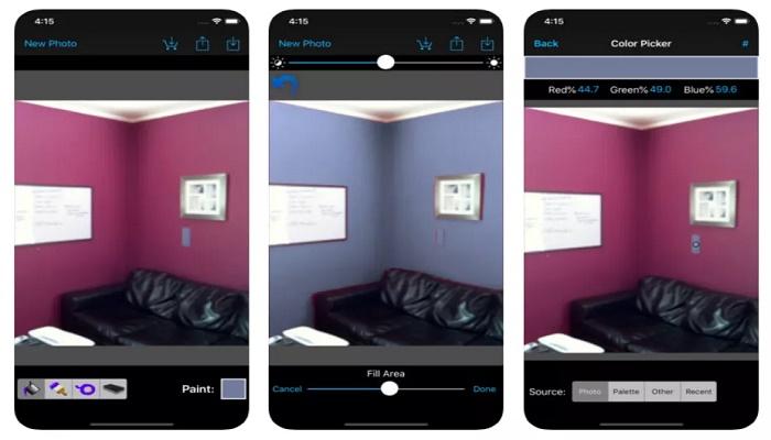 aplicaciones para pintar tu casa