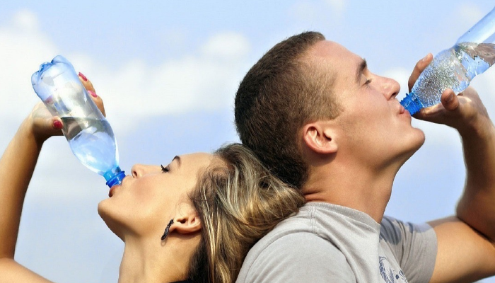 Aplicaciones para tomar agua