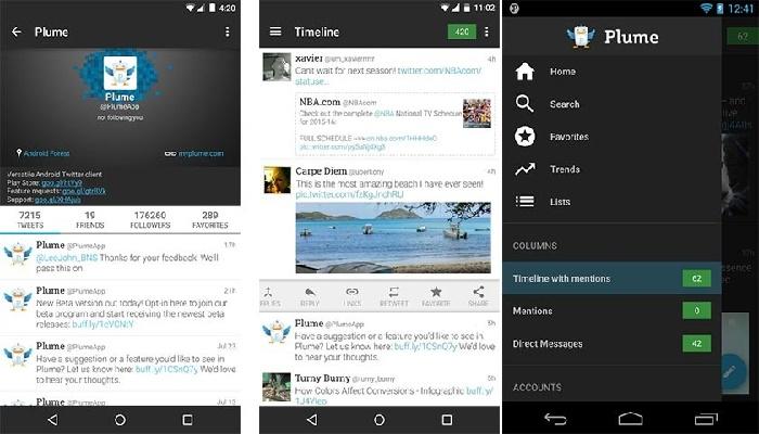 aplicaciones para el uso de twitter