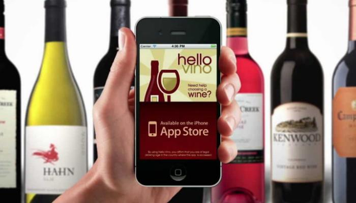 Aplicaciones para vino