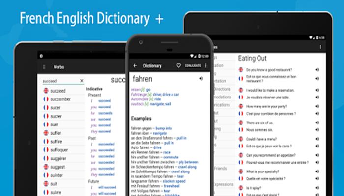 Dictionary french Ascendo