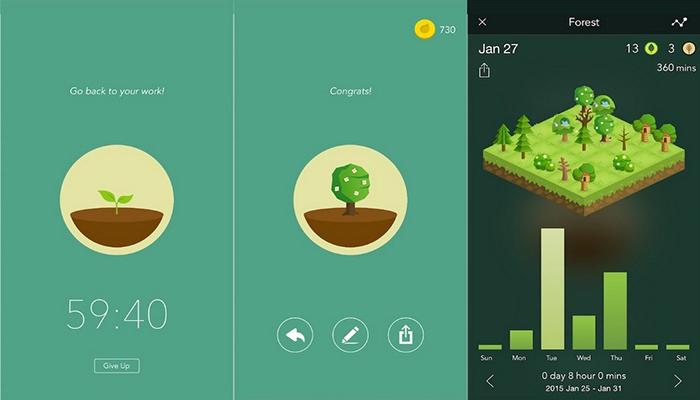 Forest app para profesores
