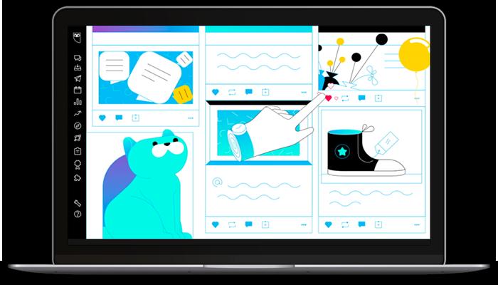 app para gestionar redes sociales