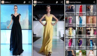 aplicaciones para vestidos de noche