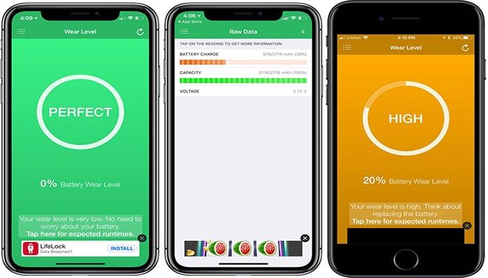 App para Batería iPhone