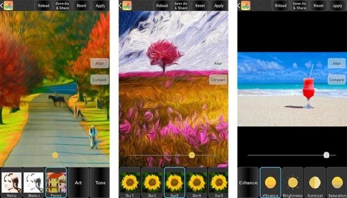aplicaciones para edición de fotos