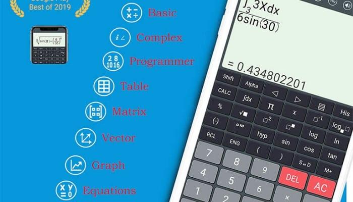 aplicaciones de calculadora