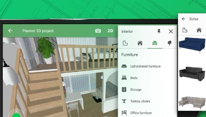 aplicaciones de mejoras para el hogar