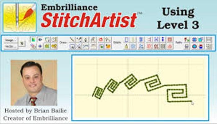 StitchArtist Level 3 software para bordar
