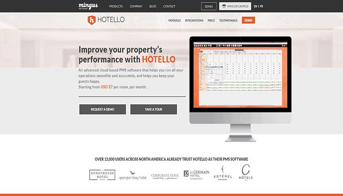 hotello software