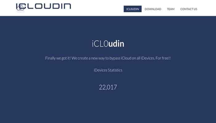 icloudin software para quitar iCloud