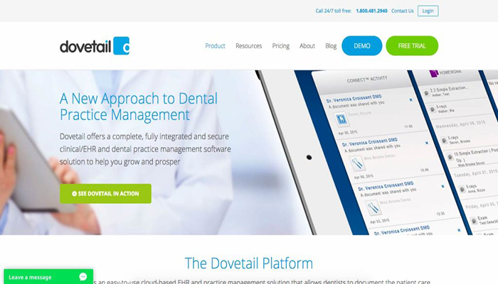 Dovetail-Dental-Software
