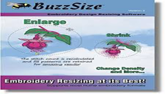 BuzzSize Embroidery Design Resizer