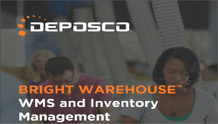 Bright warehouse de Deposco