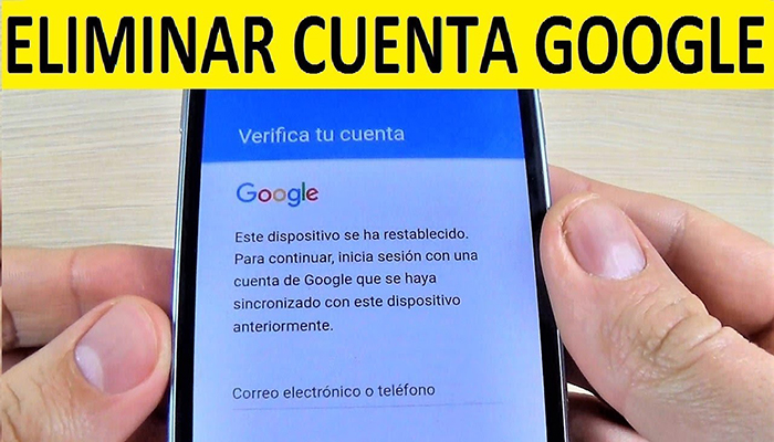 Software para quitar cuenta google