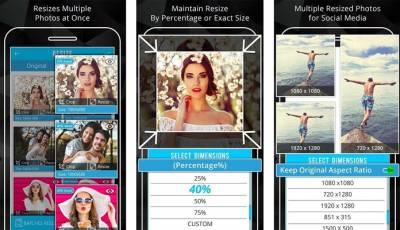 Aplicaciones Para Cambiar El Tamaño De Las Fotos
