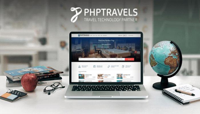 phptravels software para agencia de viaje