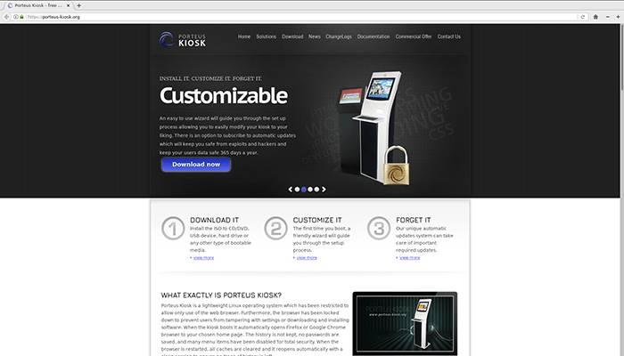 Porteus kiosk mejor software para kiosco gratis