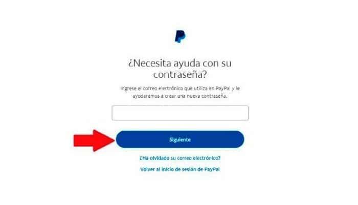 Introduce la dirección de correo electrónico