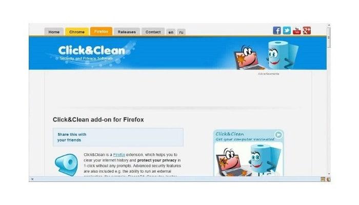 Usa Click&Clean