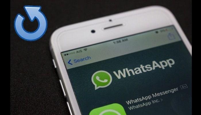 Restaurar mensajes en iPhone