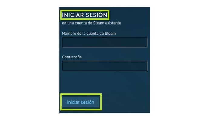 Haz clic en Iniciar sesión