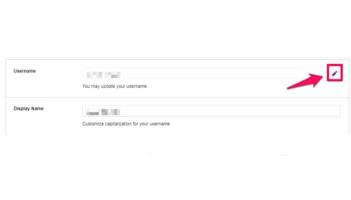 Cambiar El Nombre De Usuario Y El Nombre De Visualización De Twitch