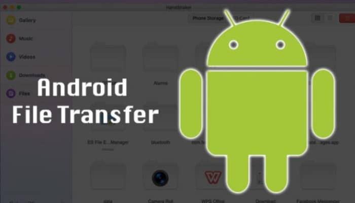 Pasar fotos con Android File Transfer