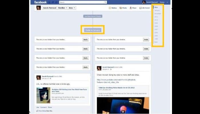 Activa la biografía de tu perfil en Facebook