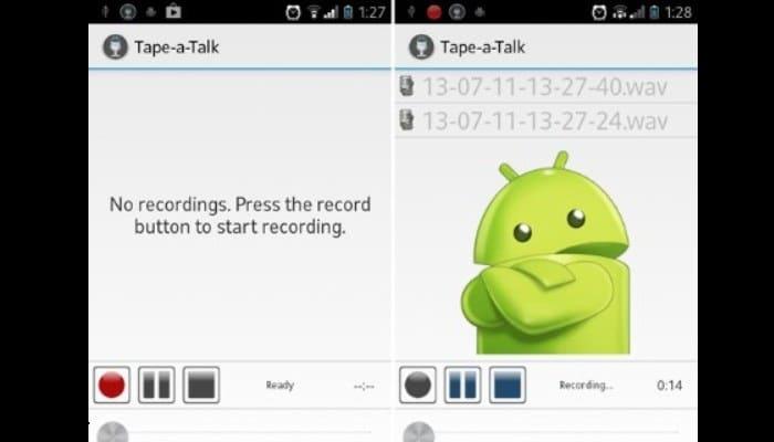 Tape-a-talk Voice Recorder