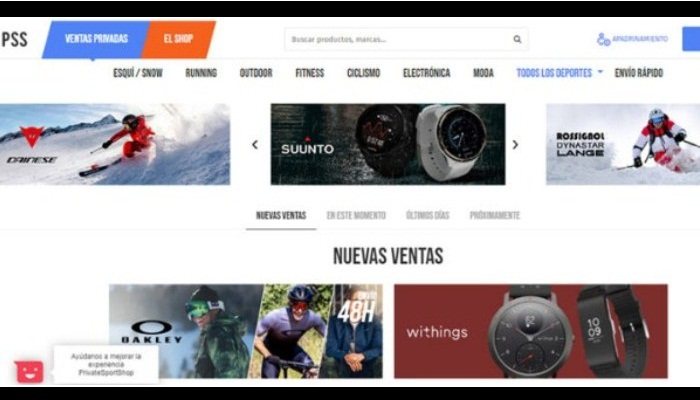 PrivateSportShop.es