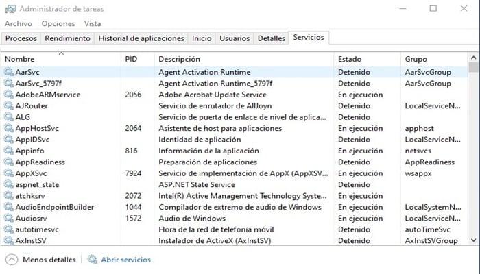 Como Abrir Y Usar El Administrador De Tareas En Windows 10 ...