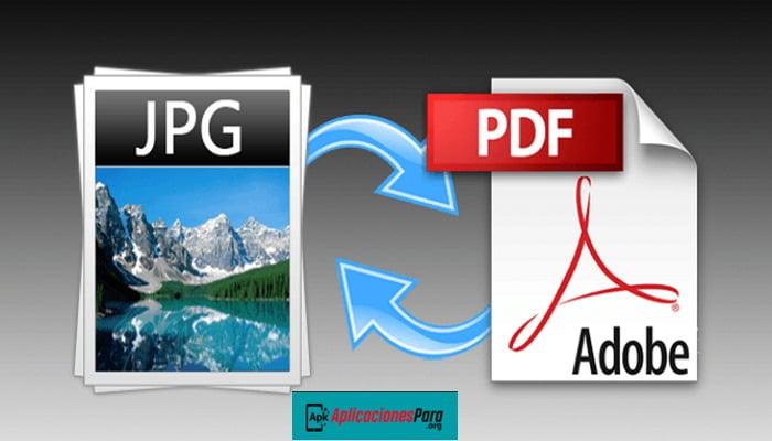 Como convertir jpg a pdf Paso a Paso