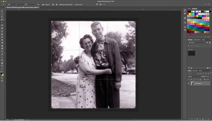 ¿Cómo Restaurar Una Foto Con Photoshop?