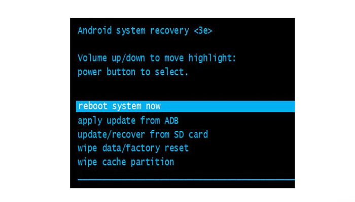 Mi Smartphone no entra en modo de recuperación