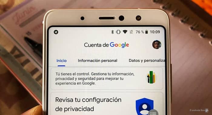 donde se guardan las contraseñas en Android