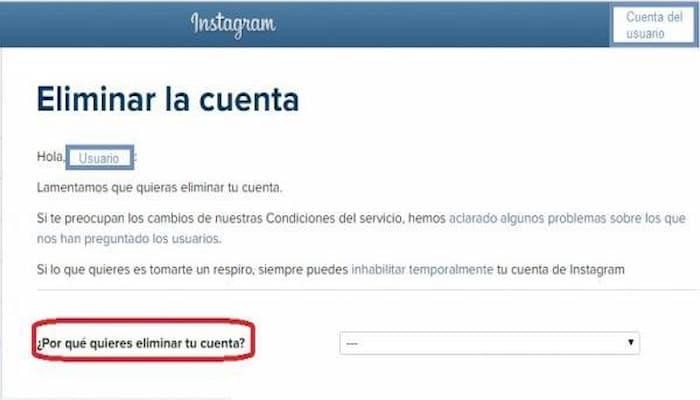 Cómo Eliminar Permanentemente Tu Cuenta De Instagram