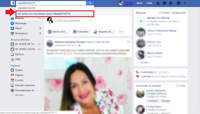 Cómo Buscar Un Número De Teléfono En Facebook