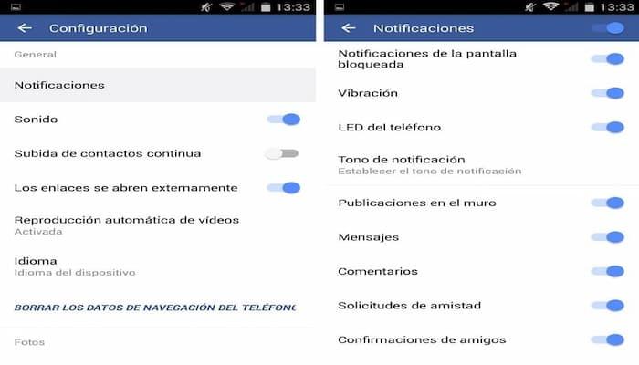 Cómo Desactivar De Inmediato Configuraciones Y Notificaciones De Facebook