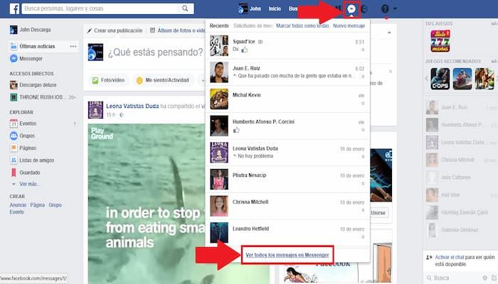 Cómo Ver Tus Mensajes Archivados En Facebook Messenger