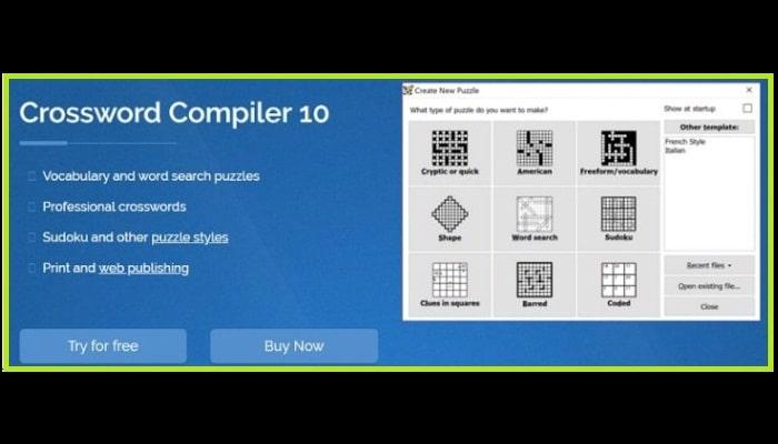 Crossword Compiler 10