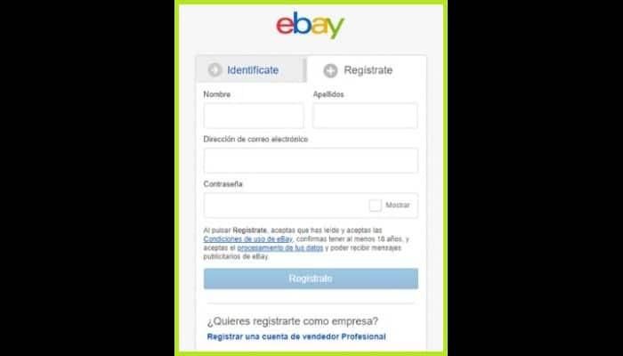 Llena el formulario